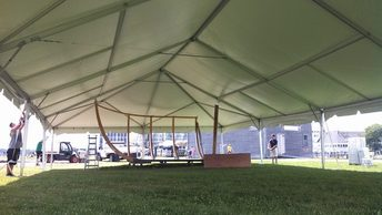 A stretch tent for Corporate Event